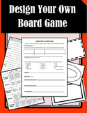 Design Your Own Math Game **End of year activity!**