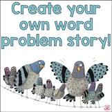 Design Your Own Math Word Problems Story Book