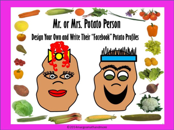 Design Your Own Mr. or Mrs. Potato Person and Write Their