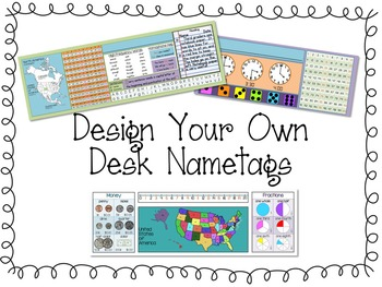 Design Your Own Nametags / Nameplates
