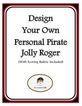 Back to School Design Your Own Personal Pirate Jolly Roger