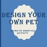Design Your Own Pet