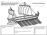 Design Your Own Phoenician Ship