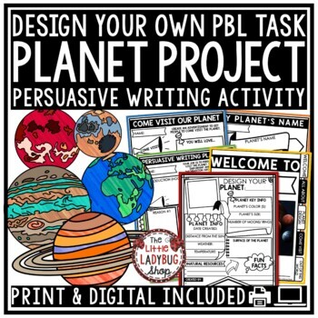 Design Your Own Planet Creative Writing HOT Extension • Teach- Go Pennants™