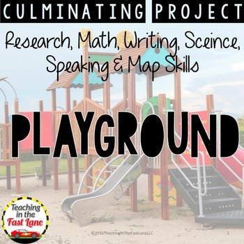 Design Your Own Playground: A Culminating Project