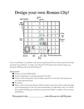 Design Your Own Roman City - Project Template