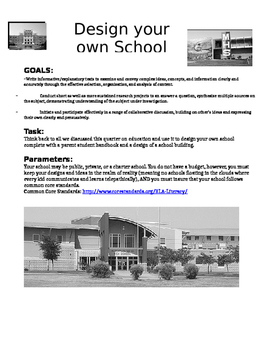Design Your Own School Research Project