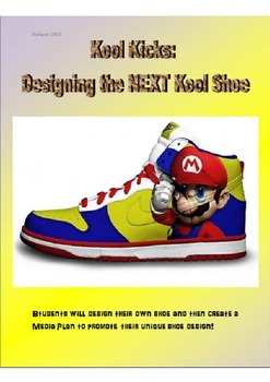 54bd2334c79d Design Your Own Shoe Assignment - Art   Media Literacy by LearnTeachExceed