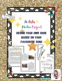 Design Your Own Shoe. Media. Music. Dance and Arts Project. Ontario Dance.