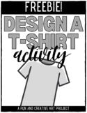 Design Your Own T-Shirt - FREEBIE
