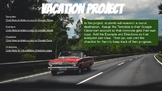 Design Your Own Vacation Project using Google Slides End o