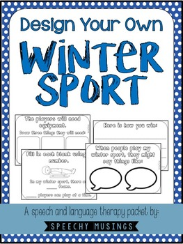 Design Your Own Winter Sport Freebie