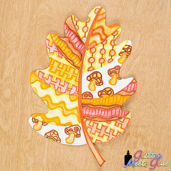 Design an Autumn Leaf Game {Fall Activities & Art Sub Plans for Back to School}