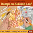 First Week of School | Design an Autumn Leaf Game {Art Sub Plans for Teachers}