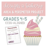 Design a Bakery Area and Perimeter Project