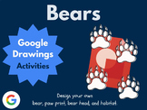 Design a Bear with Google Drawings!