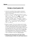 Design a Board Game 101