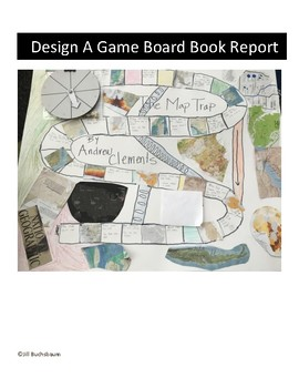 Design a Board Game Book Report