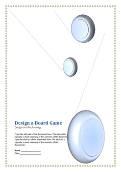 Design a Board Game Technology Unit