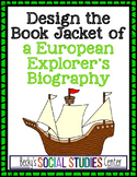 Design a Book Jacket for a European Explorer's Biography