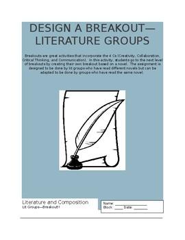 Design a Breakout--Literature Groups