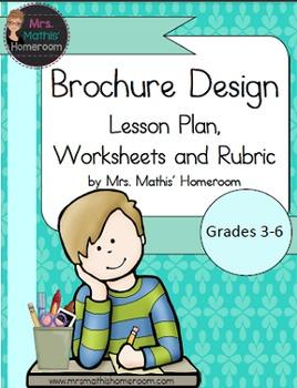 Design a Brochure Lesson Plan