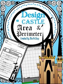 Area & Perimeter {Design a Castle Project}