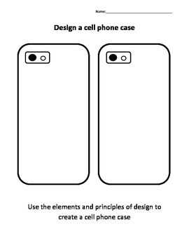 Design a Cell Phone Case