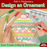 Design a Christmas Ornament: Holiday Activity, Art Sub Plan, & Writing Prompts
