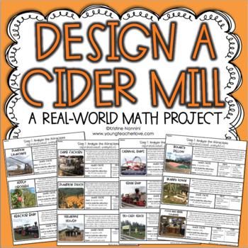 Design a Cider Mill Fall Math Project