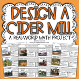 Design a Cider Mill - Fall Math Project Based Learning - PBL -