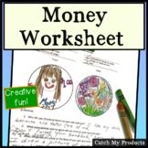 Money Worksheet - Design a Coin (Creative Activity for Money Unit)