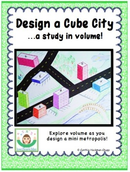 Design a Cube City...a study in volume!