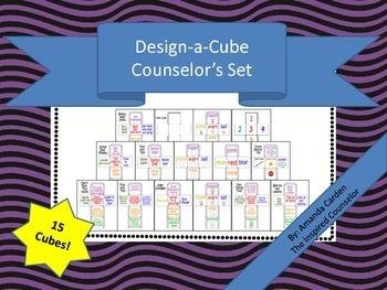 Design-a-Cube School Counselor's Set