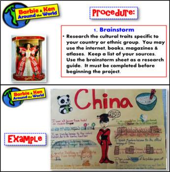 Design a Culture Barbie- Project or alternative final assessment