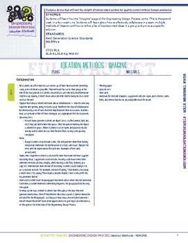 Design a Device - Week 2 of 4 - STEM Lesson Plan With Journal page