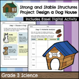 Design a Dog House Strong and Stable Structures Final Project (Grade 3 Science)