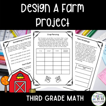 Design a Farm-3rd Grade Math Review