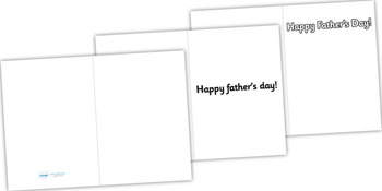Design a Father's Day Card