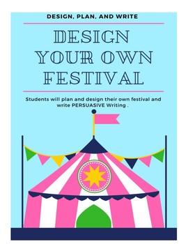 Design a Festival : Design, Plan, and Write