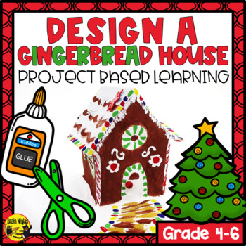 Design a Gingerbread House Christmas Math Activity