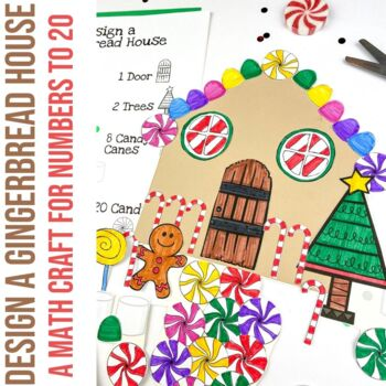 Design a Gingerbread House - A Counting Activity for Numbe