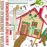 Design a Gingerbread House | Measurement | Gingerbread Activity | Winter Math