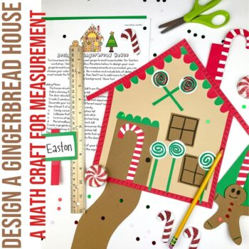 Design a Gingerbread House   Measurement   Gingerbread Activity   Winter Math