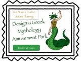 Design a Greek Mythology Amusement Park
