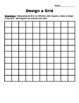 Design a Grid: Decimals and Fractions