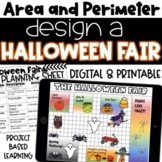 Design a Halloween Fair | Perimeter and Area Project Based