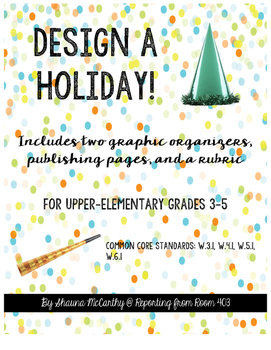 Design a Holiday Persuasive Writing Project!
