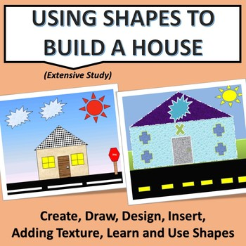 Design A House Using Microsoft Shapes By Sheila Morton Tpt