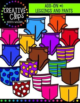 Design a Kiddo: Add-On Pack #1 {Creative Clips Digital Clipart}